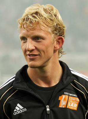 AMSTERDAM;NETHERLANDS - AUGUST 3: Dirk Kuyt during the Edwin van der Sar Testimonial at the Amsterdam Arena on August 3,2011 in Amsterdam,Netherlands. (Photo by Karel Delvoye/Getty Images for Laureus)