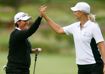 Maria Hjorth and Anna Nordqvist