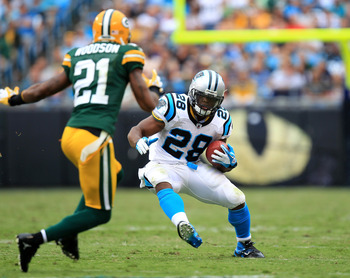 Charles Woodson is the leader of the Packers defense.
