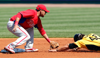 Galvis is already a gold glove caliber defender right now.