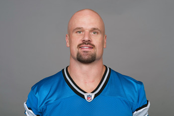 DETROIT, MI - CIRCA 2011: In this handout image provided by the NFL,  Kyle Vanden Bosch of the Detroit Lions poses for his NFL headshot circa 2011 in Detroit, Michigan.  (Photo by NFL via Getty Images)