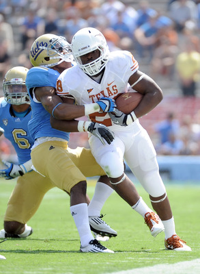Texas running back Malcolm Brown, the emerging star of the Longhorns offense
