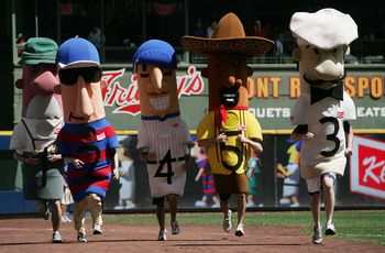 The Racing Sausages are part of the Brewer's attraction
