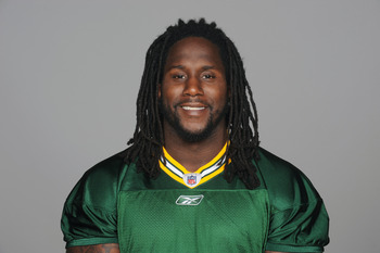 GREEN BAY, WI - CIRCA 2011: In this handout image provided by the NFL, Erik Walden of the Green Bay Packers poses for his NFL headshot circa 2011 in Green Bay, Wisconsin.  (Photo by NFL via Getty Images)