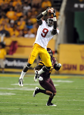 Nice catch by USC freshman WR Marqise Lee who had also had a TD reception