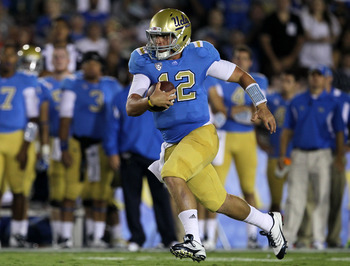 UCLA QB Richard Brehaut