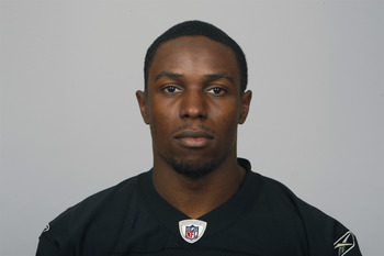 OAKLAND, CA - CIRCA 2011: In this handout image provided by the NFL, Chimdi Chekwa of the Oakland Raiders poses for his NFL headshot circa 2011 in Oakland, California. (Photo by NFL via Getty Images)