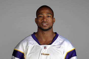 EDEN PRAIRIE, MN- CIRCA 2011: In this handout image provided by the NFL, Cedric Griffin of the Minnesota Vikings poses for his NFL headshot circa 2011 in Eden Prairie, Minnesota. (Photo by NFL via Getty Images)