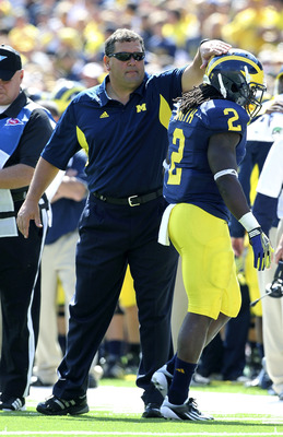 Hoke is enjoying success in his first year in Ann Arbor