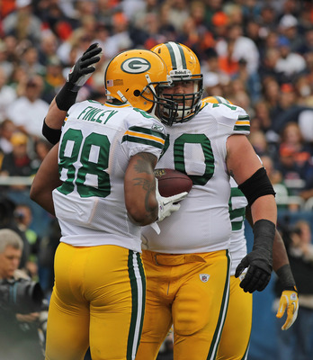 Jermichael Finley showed why he can be the best TE in the NFL yesterday.