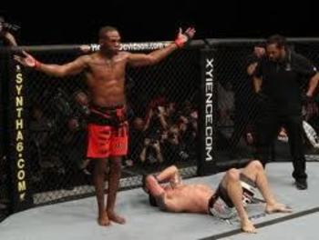 Jon Jones submits Ryan Bader