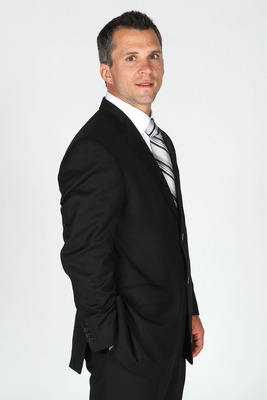 LAS VEGAS, NV - JUNE 22:  Martin St. Louis of the Tampa Bay Lightning poses for a portrait during the 2011 NHL Awards at the Palms Casino Resort June 22, 2011 in Las Vegas, Nevada.  (Photo by Jeff Gross/Getty Images)