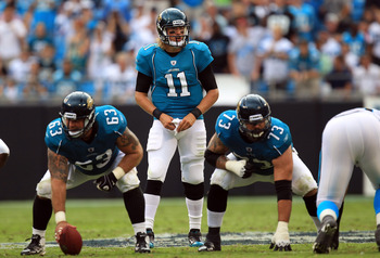 Blaine Gabbert will have a tough time as the quarterback in Jacksonville in 2011, but he'll have plenty of opportunities and a long leash.