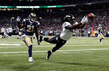Torrey Smith had a huge day in Week 3 with 152 yards and three touchdowns on five receptions.