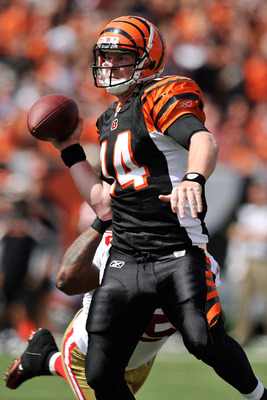 Andy Dalton threw for 322 yards and two touchdowns in Week 2 against the Denver Broncos.