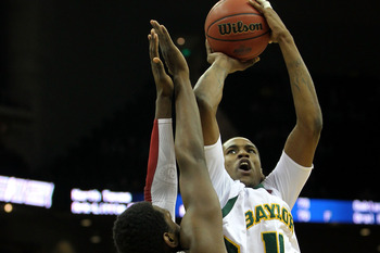 J'mison Morgan is Baylor's biggest frontcourt player at 6'11 265 lbs.
