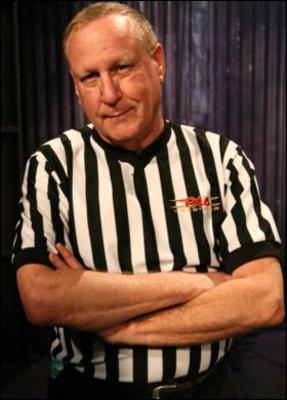 Earl Hebner: He's much, much, much stronger than he looks, apparently.