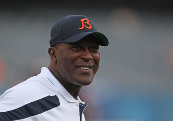 Lovie's seat will get mighty hot with a loss to former assistant Ron Rivera.