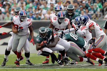 Without a doubt -- the New York Giants are one of the best teams when it comes to getting at the quarterback.