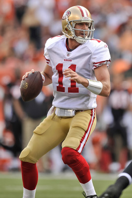 Alex Smith has shown improvement under Jim Harbaugh