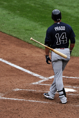 Injuries frustrated Martin Prado this year.