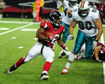 The Falcons have their own Darren Sproles type back in Jacquizz Rodgers.