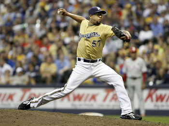 The Milwaukee Brewers acquired K-Rod in July to shore up the bullpen come October.
