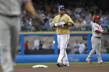 Third baseman Casey McGehee disappointed in the 2011 regular season. The Brewers will need more in the 2011 postseason.