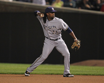 Rickie Weeks hit the seventh most home runs by a second baseman in 2011.