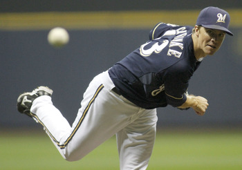 Zack Greinke was second on the Brewers in strikeouts (201) in 2011.