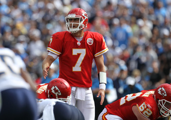 Kansas City quarterback Matt Cassel has seven turnovers through the first three games.