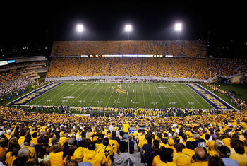 West Virginia might host a football playoff game in a 24-team tournament.