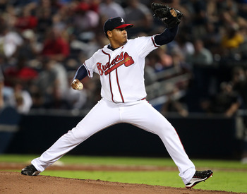 When healthy, Jair Jurrjens was dominant in 2011.