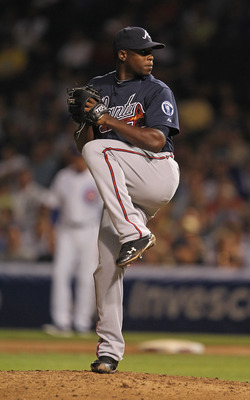 Arodys Vizcaino gave fans a sneak preview of his talented arm.
