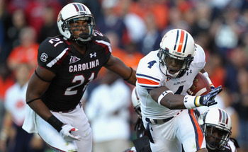 South Carolina couldn't hold on to defeat Auburn