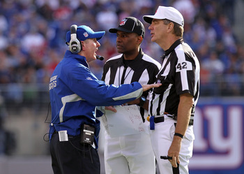 No, these aren't the refs from the game today