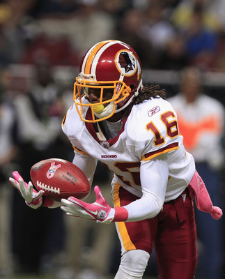Redskins' Brandon Banks had eye on ball vs. Rams