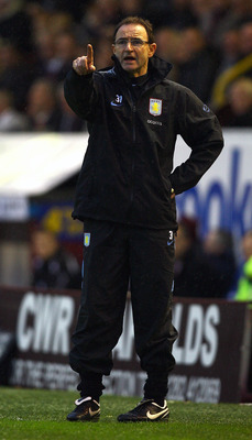 Martin O'Neill: Led the English Brigade at Aston Villa