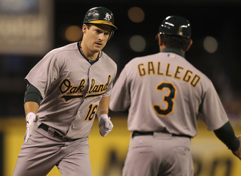 Outfielder Josh Willingham led the A's with 29 home runs and 98 RBI