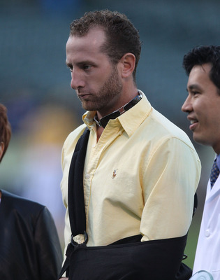 Left-hander Dallas Braden missed five months due to season-ending shoulder surgery
