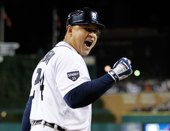 Miguel Cabrera is always a threat at the plate