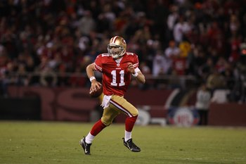 49ers must minimize the number of times Alex Smith runs for his life.
