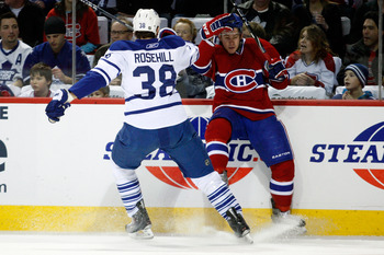 Rosehill wants to bring his hard hitting ways for the Leafs all season long.