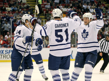 Gardiner is expected to take patrol on the point for the second power play unit.