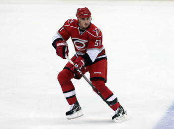 Tomas Kaberle left the Stanley Cup champions for Carolina