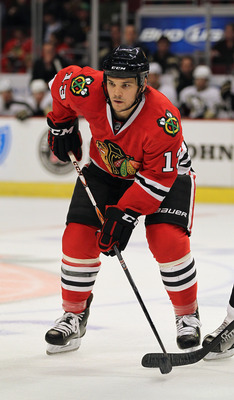 Daniel Carcillo has taken his agitating style of play to Chicago