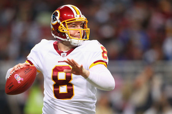 Washington quarterback Rex Grossman has made coach Mike Shanahan look good as he has Washington off to a 3-1 start.