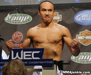 The UFC hopes Tiequan Zhang can help their footprint in the Chinese market. (Photo courtesy of mmajunkie.com)