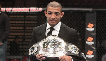 Jose Aldo will look to defend his gold for a second time in the UFC.