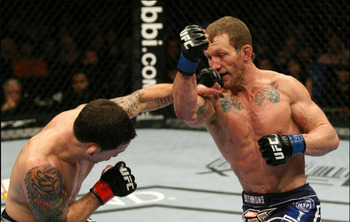 Frankie Edgar and Gray Maynard will do it one more time at UFC 136. (Photo courtesy of jeffjoslinmma.com)